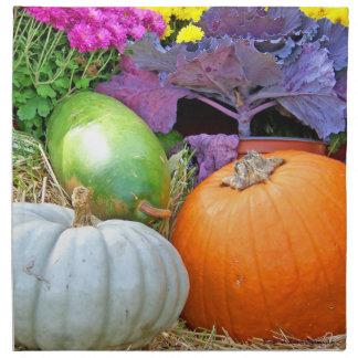 Holiday Colors Fall/Autumn Design Napkin