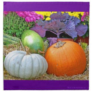 Holiday Colors Fall/Autumn Thanksgiving Design Cloth Napkin