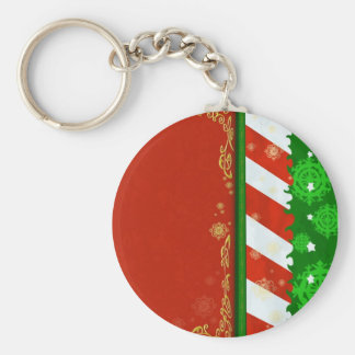 Holiday Colors Keychain