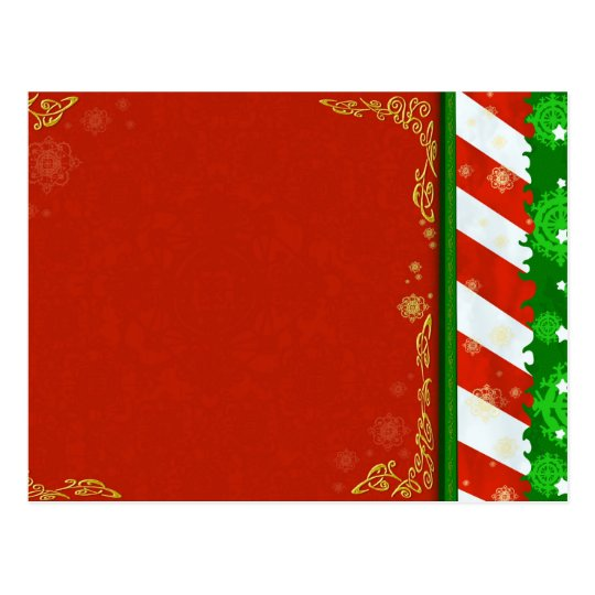 Holiday Colors Postcard
