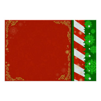 Holiday Colors Poster