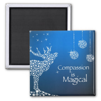 Holiday Compassion is Magical Magnet