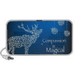 Holiday Compassion is Magical Mini Speakers