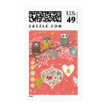 Holiday Concept Illustration Stamp