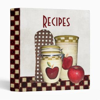 Holiday Cookbook Binder