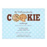 Holiday Cookie Exchange Custom Invites