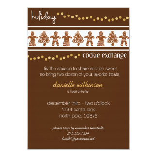 Holiday Cookie Exchange Invitation