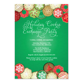 Holiday Cookie Exchange Party Invitation