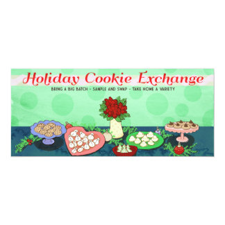 Holiday Cookie Exchange Party Invites