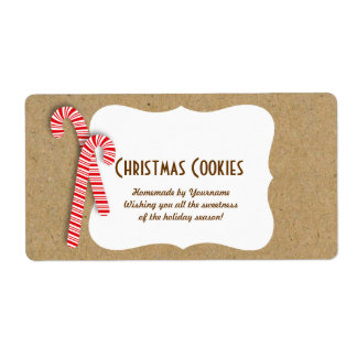 Holiday Cookie Labels for Cookie Swaps & Gifts