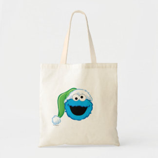 Holiday Cookie Monster Tote Bag