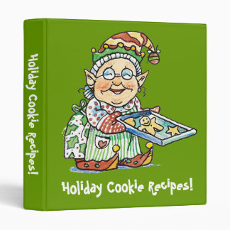 Holiday Cookie Recipes Binder!