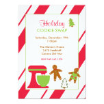 Holiday Cookie Swap Party Custom Invites