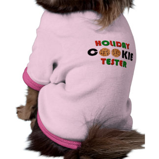 Holiday Cookie Tester Doggie Shirt