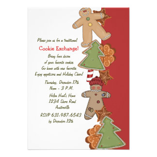 Holiday Cookies - Cookie Exchange Invitation