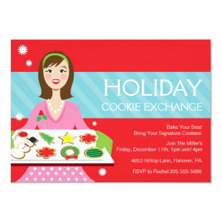 Holiday Cooking Baking Party Invite