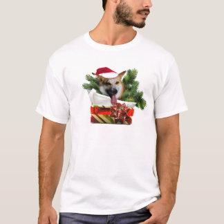 Holiday Corgi Men's Tee