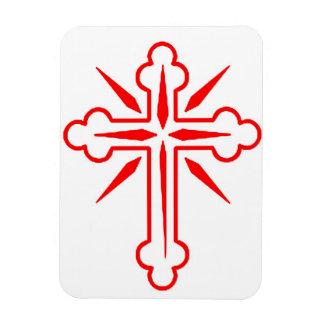 Holiday Cross Religious Premium Magnet