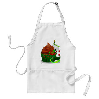 Holiday Cupcake Whimsey BAKING CHEF KITCHEN Adult Apron