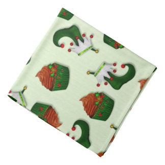 Holiday Cupcake Whimsey HAIR COVER Bandana