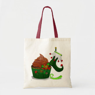 Holiday Cupcake Whimsey PIE GIFTS DESSERTS Tote Bag