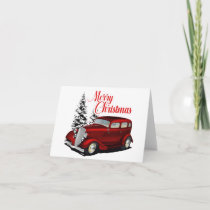 Holiday Custom Sedan Card