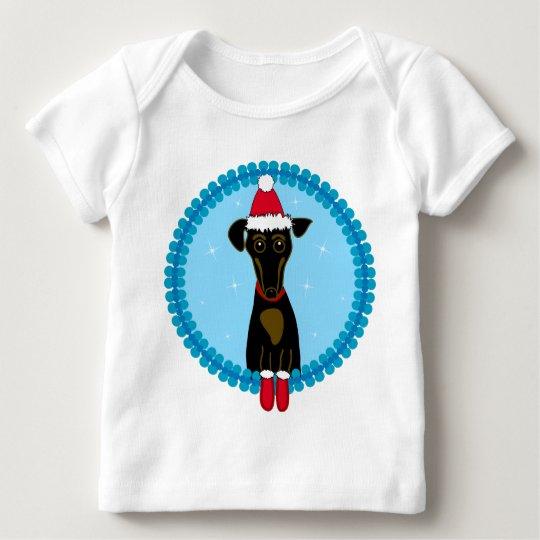 Holiday Dachshund Baby T-Shirt