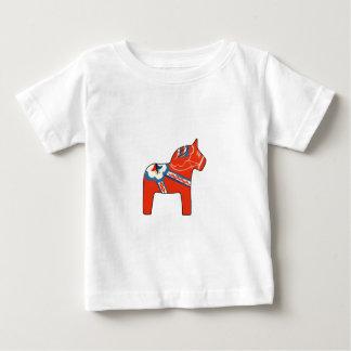 Holiday Dala Horse Baby T-Shirt