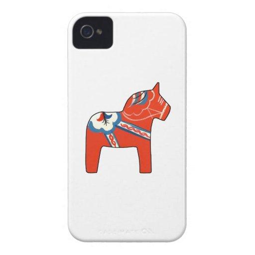 Holiday Dala Horse iPhone 4 Case-Mate Case