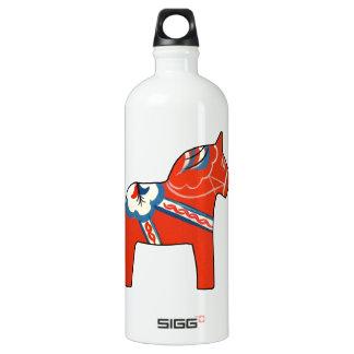 Holiday Dala Horse Water Bottle