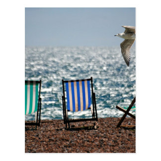Holiday Deckchairs Postcards