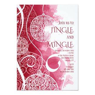 Holiday Decor Invitation