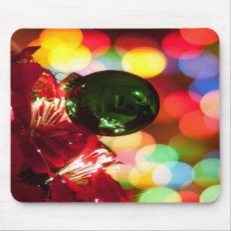 Holiday Decorations Christmas Tree Lights Mousepad