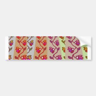 Holiday Decorations : Flower Garlands Bumper Sticker