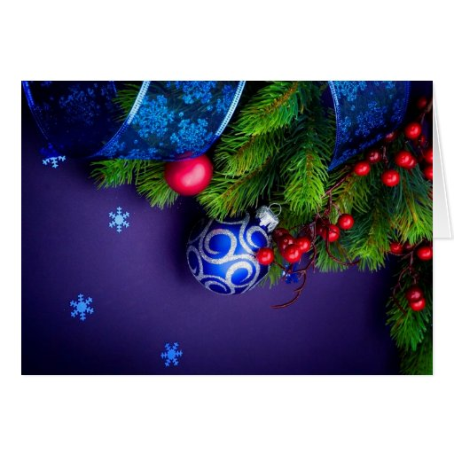 Holiday Decorations Greeting Card