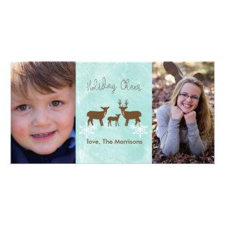 Holiday Deer Photo Card