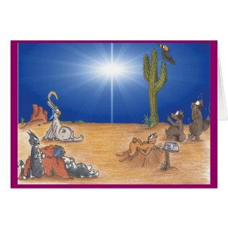 Holiday Desert Star Card