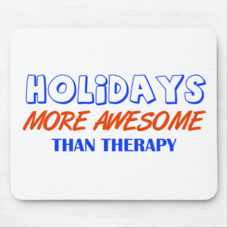 holiday design mouse pad