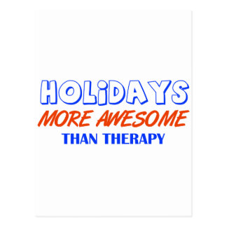 holiday design postcard