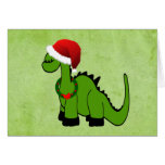Holiday Dinosaur Card