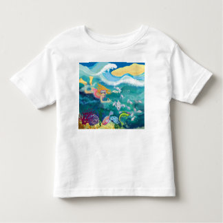 Holiday dip in the ocean t-shirt