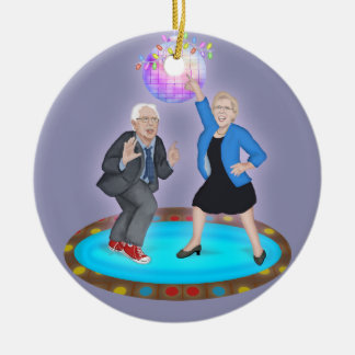 Holiday Disco Party with Liz and Bernie Ornament