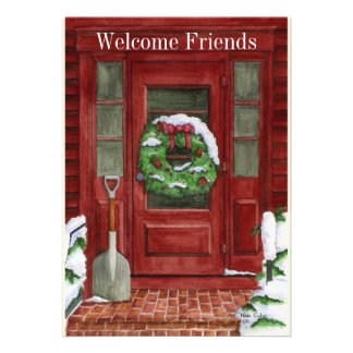 Holiday Door Party Invitation