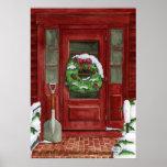 Holiday Door Print