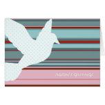 Holiday Dove Card