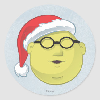 Holiday Dr. Bunsen Honeydew 2 Classic Round Sticker