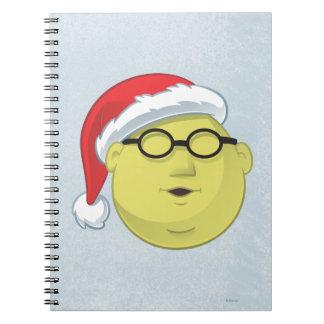 Holiday Dr. Bunsen Honeydew 2 Spiral Notebook