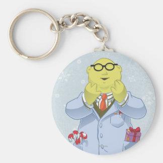 Holiday Dr. Bunsen Honeydew Basic Round Button Keychain