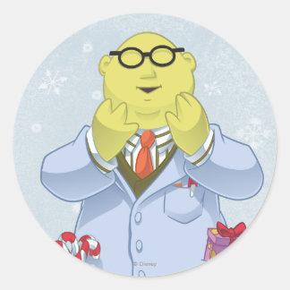 Holiday Dr. Bunsen Honeydew Classic Round Sticker