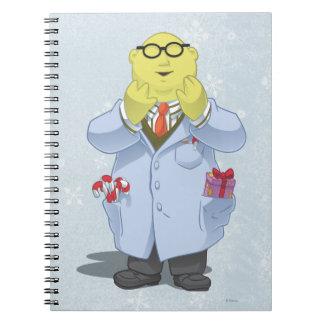 Holiday Dr. Bunsen Honeydew Notebook